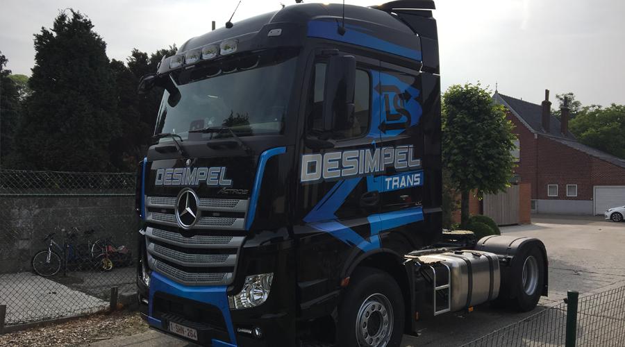 Transportbedrijf Desimpel Tractievervoer België en Nederland