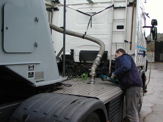 Transportbedrijf Desimpel trans onderhoud